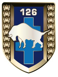 Logo 126 régiment d'infanterie